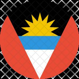Antigua Flat Icon