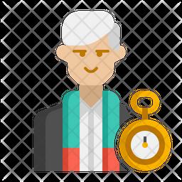 Antiquarian Male Icon