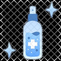 Antiseptic gel Gradient Icon