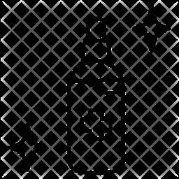 Antiseptic gel Line Icon