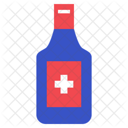 Antiseptic Liquid Icon
