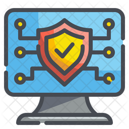 Antivirus Colored Outline Icon