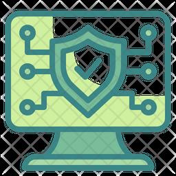 Antivirus Dualtone Icon