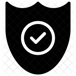 Antivirus Shield Icon Of Glyph Style Available In Svg Png Eps Ai Icon Fonts