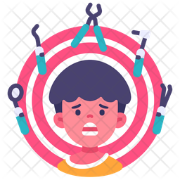 Anxiety Kid Icon Of Flat Style Available In Svg Png Eps Ai Icon Fonts