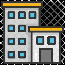 Apartment Blocks Icon