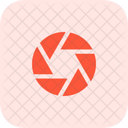 Aperture Flat Icon
