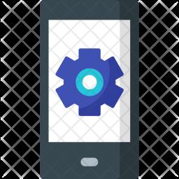 App, Developement, Mobile, Setting Icon