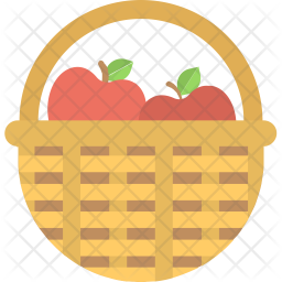 Apple Basket Icon