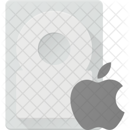 Apple Harddisk Icon Of Flat Style Available In Svg Png Eps Ai Icon Fonts