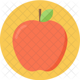 Apple, Red, Fruit, Delicious, Juicy, Food, Healthy Icon