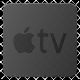 Apple tv Flat Icon