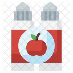 Apple Vaping Icon