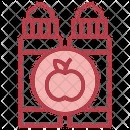 Apple Vaping Icon
