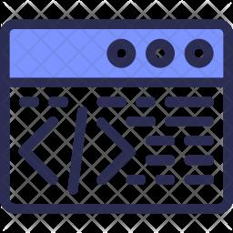 Application Coding Icon