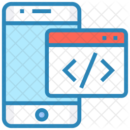 Application development in mobile Icon