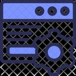 Application Setting Icon