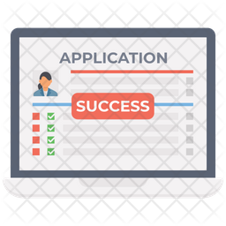 Application Submitted Successfully Icon