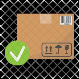 Approve parcel Icon