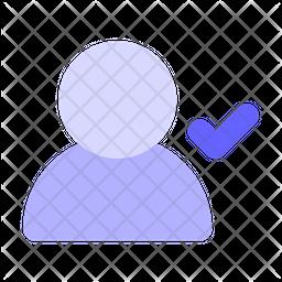 Approve-user Icon