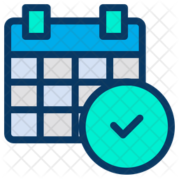 Approved Calendar Icon