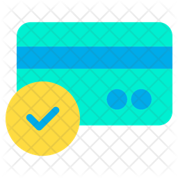 Approved  Credit Card Icon