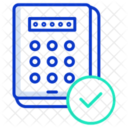 Approved Password Icon