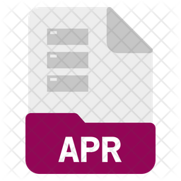 Apr file Icon