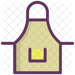 Apron, Clothing, Cook, Cooking, Kitchen, Uniform Icon