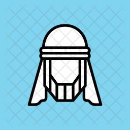 Arab Glyph Icon