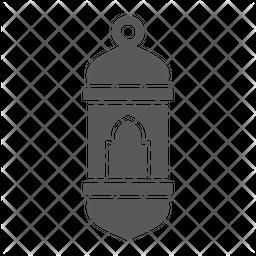 Arabic lantern Icon
