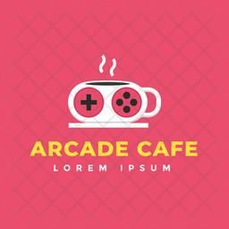 Arcade Cafe Logo Icon