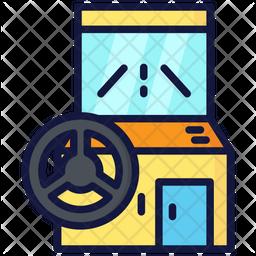 Arcade Wheel Car Icon