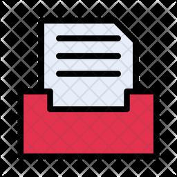Archive Document Icon