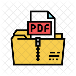 Archiving Colored Outline Icon