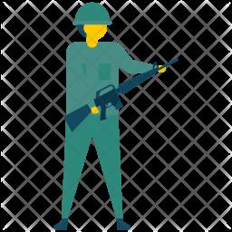 Army Flat Icon