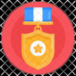 Army Achievement Flat Icon
