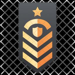 Army Badge Flat Icon