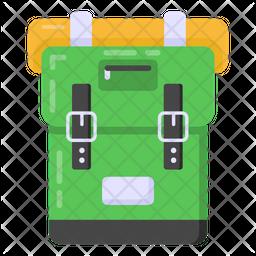 Army Bag Flat Icon