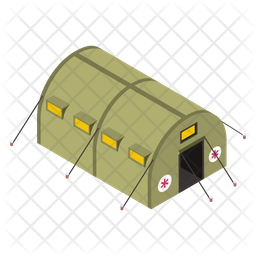 Army Camp Icon