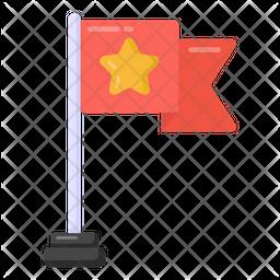 Army Flag Flat Icon