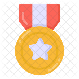 Army Medal Flat Icon