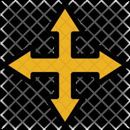 Multi Directional Arrow Icon