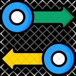 Arrow Bar Icon