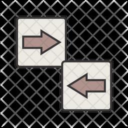 Arrow Directions Icon