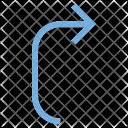 Arrow Pointing Icon