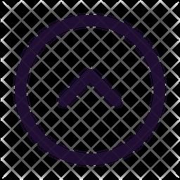 Arrow Up Circle Icon