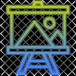 Art Board Gradient Icon
