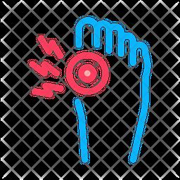 Arthritis Bone Foot Icon