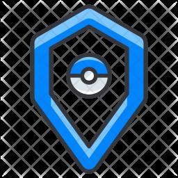 Articuro pokeball Colored Outline Icon